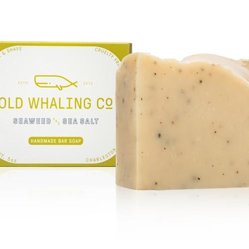 Handmade Bar Soap - Seaweed & Sea Salt