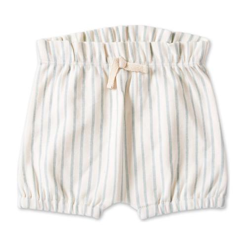 Organic Cotton Baby Shorts - 0-3 months