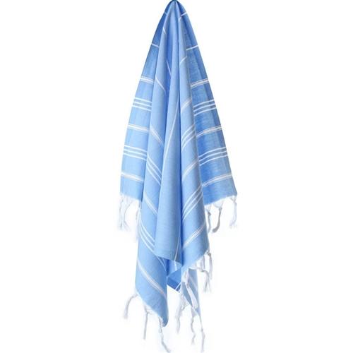 Turkish Kitchen/Hand Towel -  Sky Blue