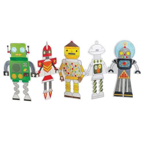 Paper Dolls - Robot