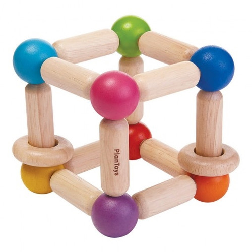 Wooden Baby Toys - Square Clutch