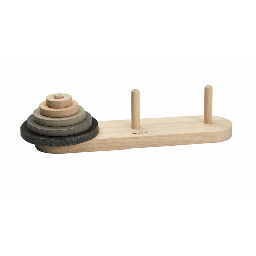 Wooden Game for Toddlers - Stacking Cones