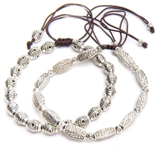 Silver Tibetan Bracelets - Sold Individually