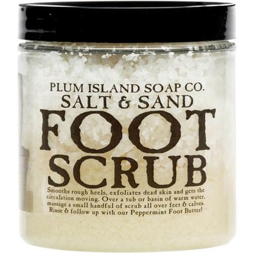 Natural Foot Scrub - Salt & Sand