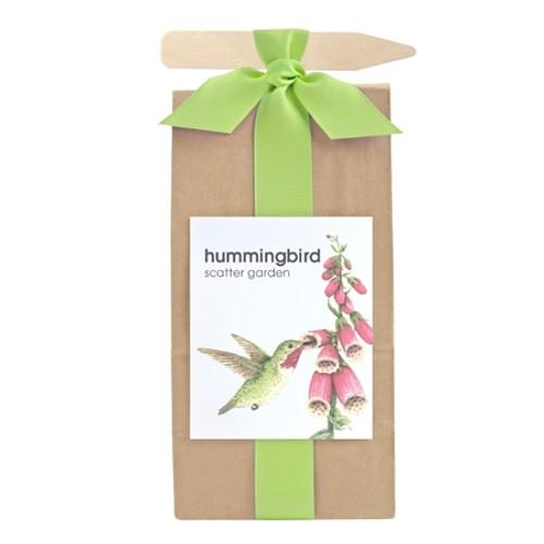 Kid's Gardening Gift - Hummingbird Habitat Scatter Garden