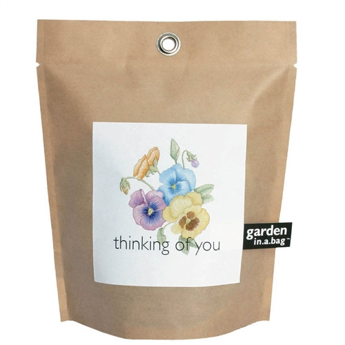 Thinking of You - Garden in a Bag Pansy