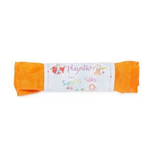 Waldorf Toys - Play Silks - Orange