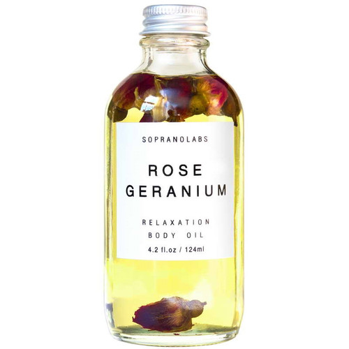 Rose and Geranium Body Oil - Relaxation