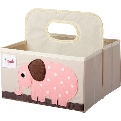 Make Your Own Gift Basket - Elephant Diaper Caddy