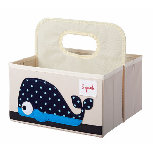 Make Your Own Gift Basket - Whale Diaper Caddy