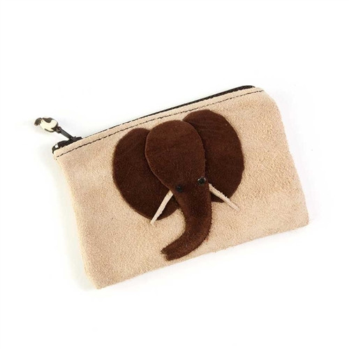 Elephant Gifts - Suede Purse