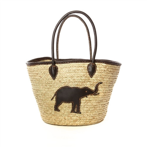 Elephant Tote Bag - African