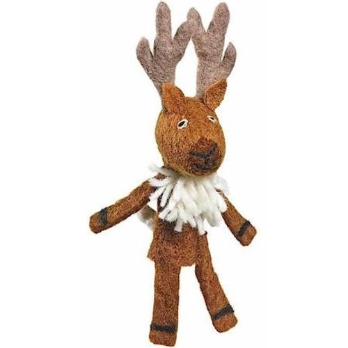 Finger Puppet Ornament - Deer