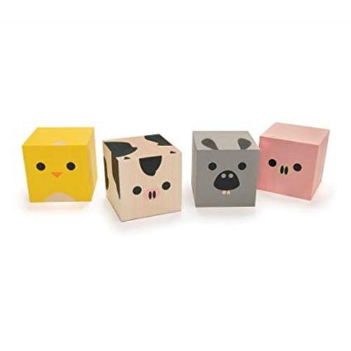 Toys Made in USA - Farm Blocks