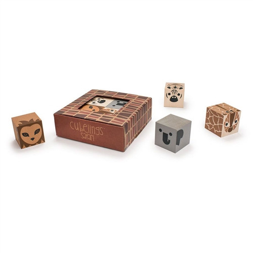 Toys Made in USA - Blocks Safari