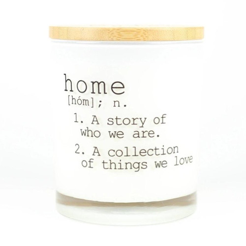 Hand Poured Soy Candle - Home, Balsam & Cedar