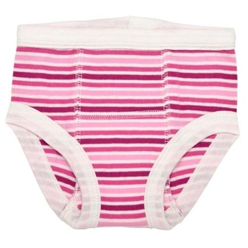 Under the nile Organic Training Pant -  Pink Stripe