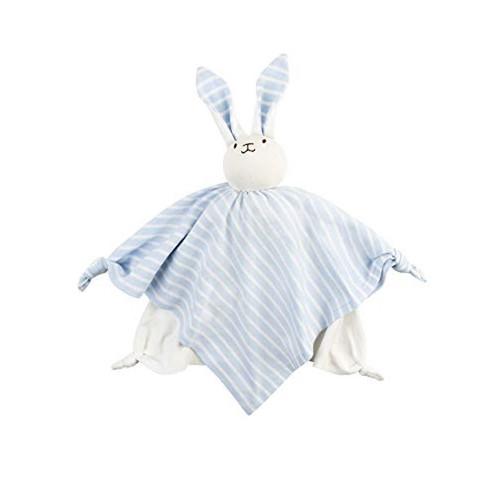 Organic Baby Toys - Bunny Lovie Blue