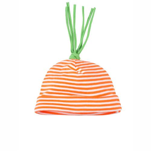 Organic Carrot Hat, 0-3M