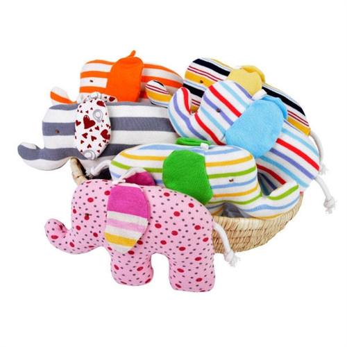 Organic Baby Toys - Elephant