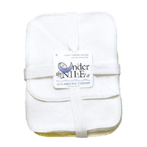 organic baby wash cloths - set of 12