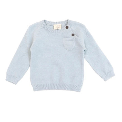 Organic Pullover Sweater - 3-6 Months