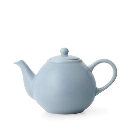 Porcelain Teapot with Infuser - Hazy Blue
