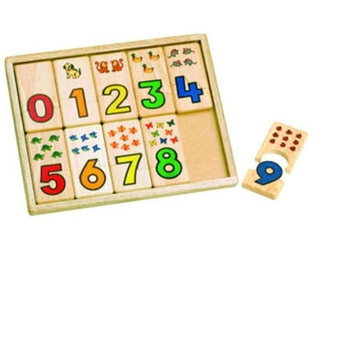 Educational Toys - Number Tray
