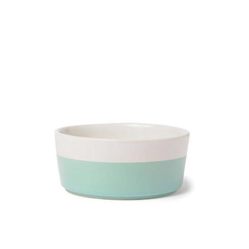 Ceramic Dog Bowl - Mint, Medium