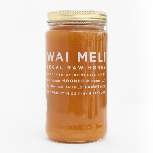 Organic Raw Honey from Hawaii - Macadamia Blossom