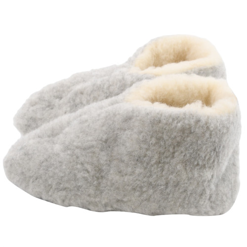 Sheep's Wool Slippers - Fits Sizes w6.5 - 7.5