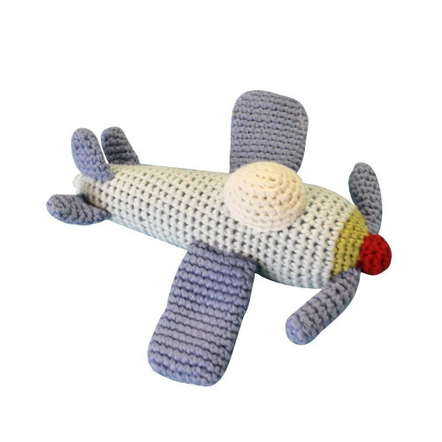 Airplane Baby Toy Rattle