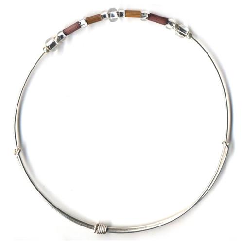 Fair Trade Jewelry - Leakey Celebration Bracelet - September (Brown)