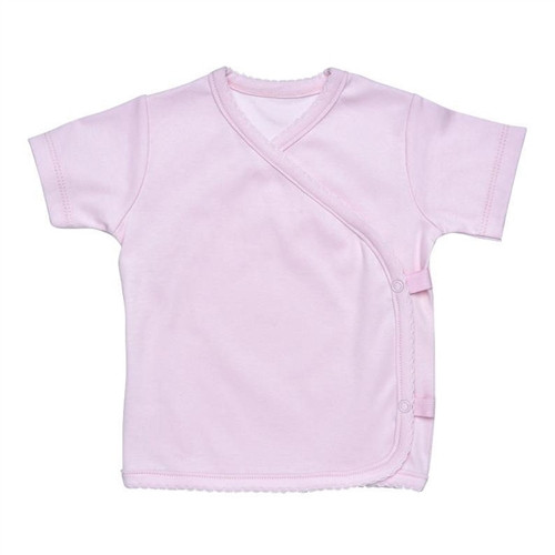 Under the Nile Side Snap T-shirt - Pink