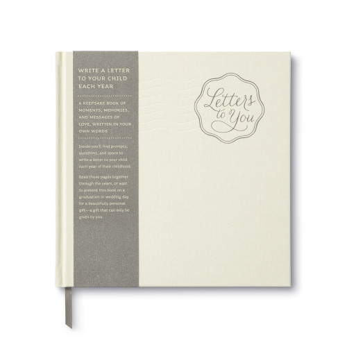 Keepsake Baby Book - Letters to You