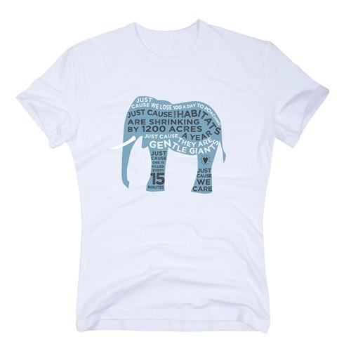 Organic Elephant T-shirt for Him