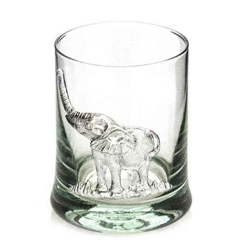 Elephant Whiskey Glass
