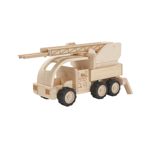 Wooden Toy Fire Truck