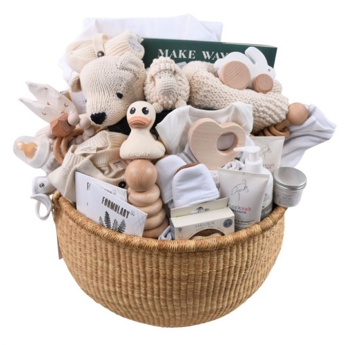 Luxury Baby Gift Basket - Everything & More & More
