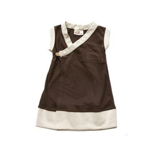 Organic Girl's Dress Made in the USA 4T
