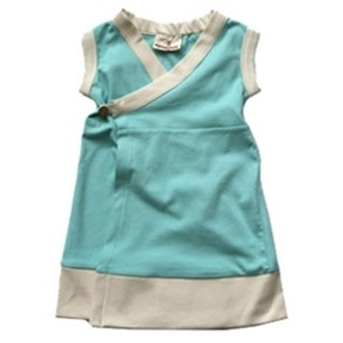 Organic Dress Made in the USA - 24m