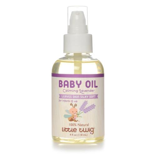 Little Twig Lavender Organic Baby Oil