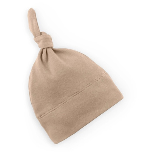 Organic Baby Hat - Clay - 0-3m