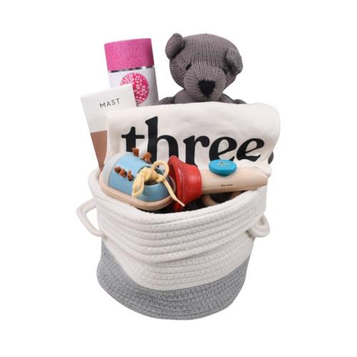 Third Birthday Gift Basket - Sweet on You