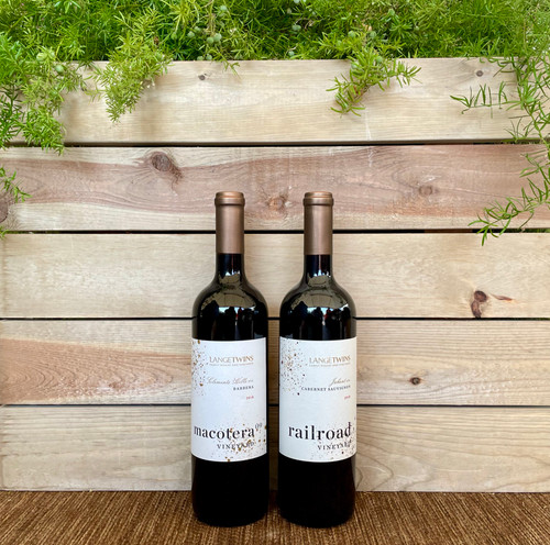 Wine 2 Pack - Red & Red - Ships direct from Sustainable California Vineyard
