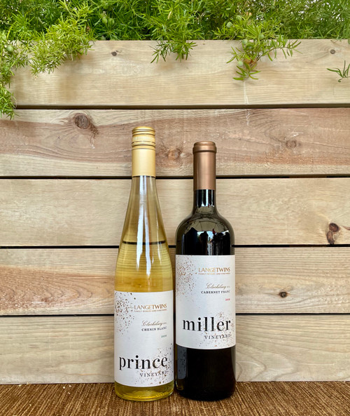 Wine 2 Pack - Red & White - Ships direct from Sustainable California Vineyard