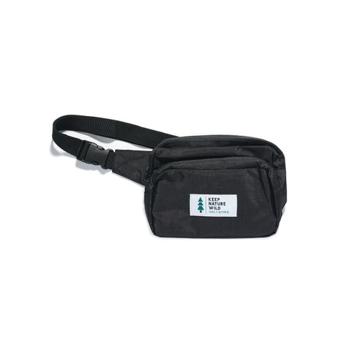 Keep Nature Wild Fanny Pack - Black