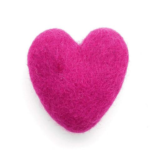 Natural Cat Toys - Felt Heart