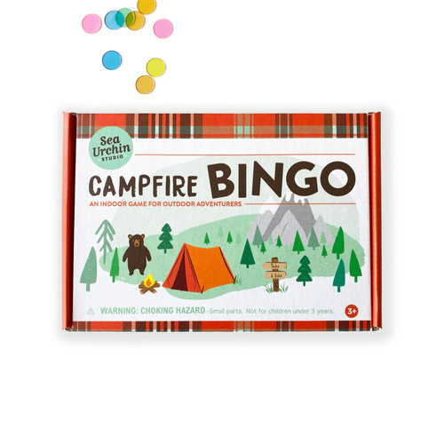 Travel Campfire Bingo Game
