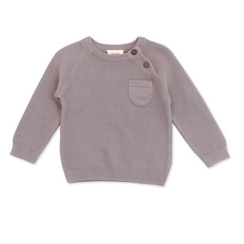 Organic Pullover Raglan Sweater - 0-3 months